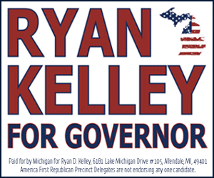 Ad for: Ryan D. Kelley for Governor